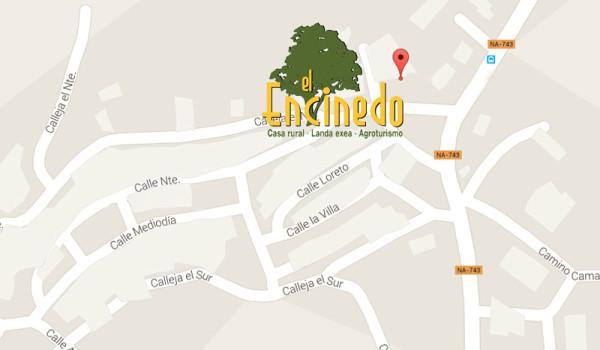 maps El Encinedo